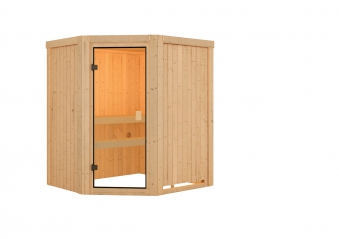 Woodfeeling Sauna Faurin 68mm ohne Saunaofen Bild 2