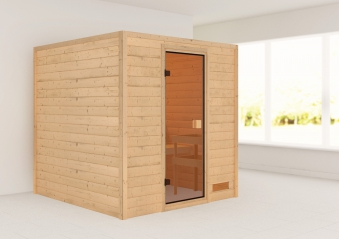 Woodfeeling Sauna Jara 38mm ohne Saunaofen Bild 1