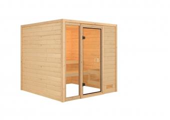 Woodfeeling Sauna Jutta 38mm ohne Saunaofen Bild 3