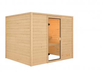 Woodfeeling Sauna Katja 38mm ohne Saunaofen Bild 2