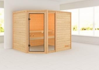 Woodfeeling Sauna Lola 38mm ohne Saunaofen Bild 1
