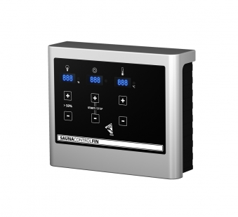 Woodfeeling Sauna Sandra 38mm Saunaofen 9 kW extern Bild 6