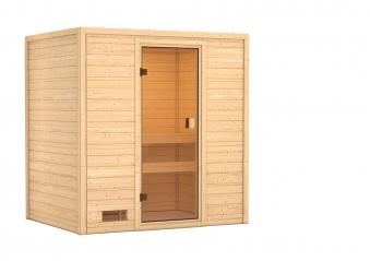Woodfeeling Sauna Selena 38mm ohne Saunaofen Bild 2