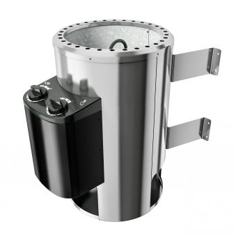 Saunaofen Plug & Play 230V Karibu mit integrierter Steuerung