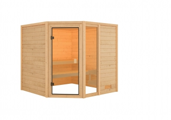 Woodfeeling Sauna Tabea 38mm ohne Saunaofen Bild 8